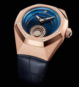 Répliques  montres à vendre semblent douces avec de l'or rose.