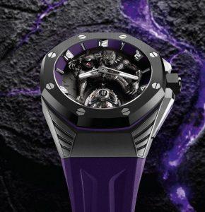 Fausses montres en ligne sont de bon goût avec une couleur violette.