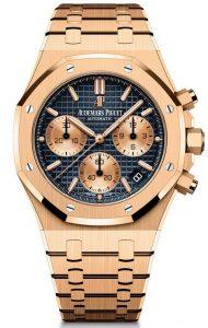 Fausses montres Suisses ont l'air à la mode avec la couleur bleue.