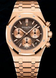 AAA répliques montres sont charmantes avec une couleur brune.